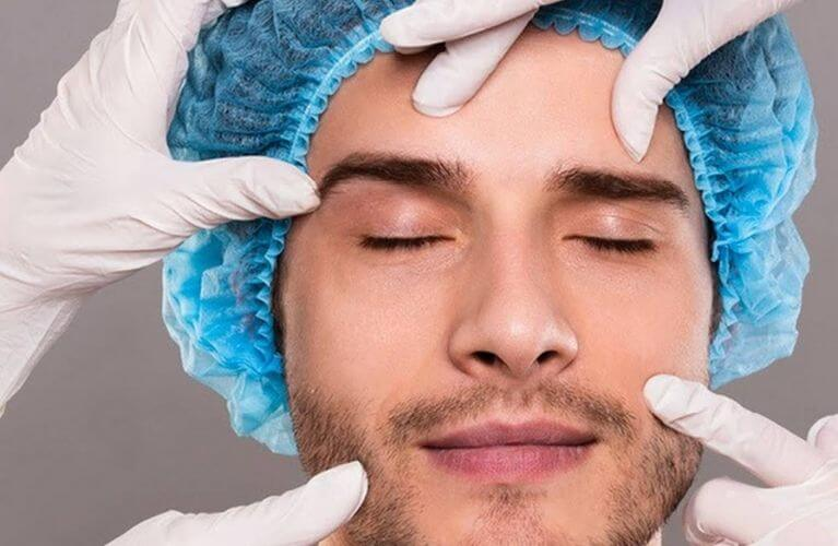 preenchimento labial homem